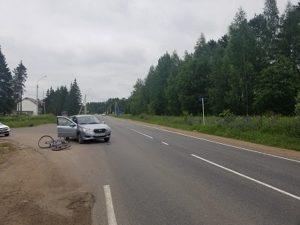 В Смоленской области в жестком ДТП пострадал велосипедист