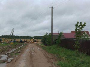 Три смоленские деревни обзавелись экономными фонарями