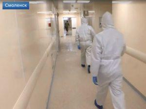 Смоленск вырвался в лидеры по новым случаям коронавируса в регионе
