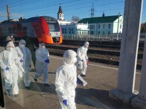 В одном из районов Смоленской области зафиксировали скачок заболеваемости коронавирусом