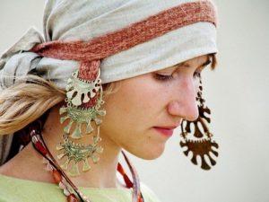 Женские украшения в древние времена