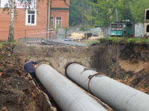 В Смоленске капремонт теплосети на улице Соболева завершился досрочно