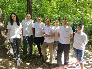 Сотрудники «АтомЭнергоСбыт» приняли участие в экологической мультигонке
