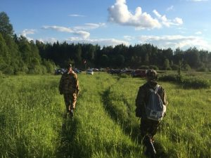 Под Смоленском в лесу заблудился 65-летний грибник
