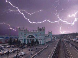 В Смоленске вновь объявили «жёлтый» уровень погодной опасности