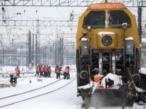 Железнодорожники Смоленской области готовятся к работе в зимних условиях