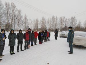 Сычевские школьники приняли участие в учебной эвакуации