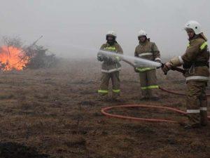 Автомобиль УАЗ 31513 горел в деревне Смолиговка Руднянского района