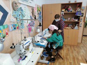В Духовщинской школе-интернате для детей с ОВЗ обновили учебные мастерские