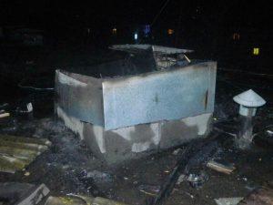 Появились подробности пожара на улице Шевченко в Смоленске