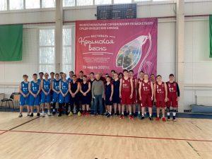 В Смоленске прошли соревнования по баскетболу в рамках фестиваля «Крымская весна»