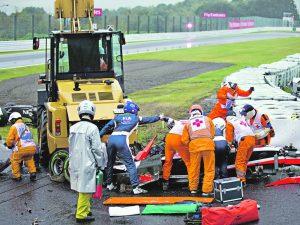 Два Гран При Формулы 1, закончившиеся трагедией