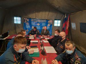 Смоленщина приняла участие во Всероссийском командно-штабном учении МЧС