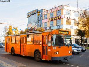 В Смоленске изменится маршрут троллейбусов