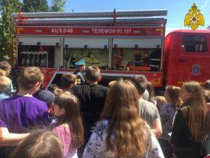 Юным смолянам напомнили о правилах пожарной безопасности дома и на природе