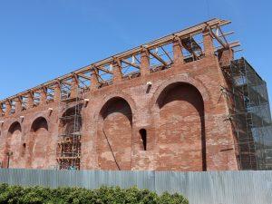 Реставрацию на 38-м прясле Смоленской крепостной стены планируют завершить ко Дню города