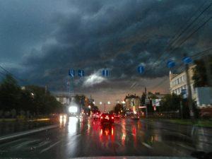 В Смоленске рабочая неделя закончится дождём и грозой
