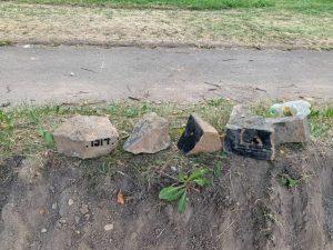 В центре Смоленска при реконструкции улицы обнаружили надгробия