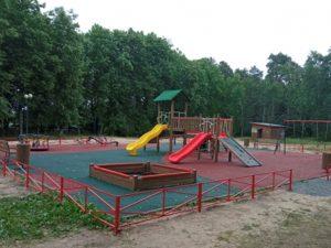 В поселке Пржевальское построили новую детскую игровую площадку