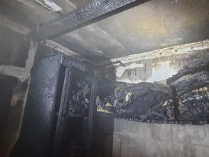 Появились подробности пожара в многоэтажке на Киевском шоссе в Смоленске