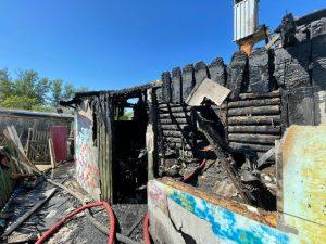 Названа причина пожара в Починке с пятью погибшими детьми