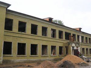 В Ярцеве проходит капитальный ремонт в художественной школе