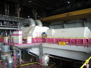 На Смоленской ГРЭС выполняется цветовая маркировка оборудования