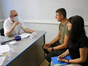 Сергей Неверов провел прием граждан в Вязьме