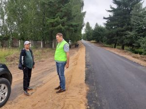ОНФ добился ремонта подъездной автодороги к смоленской деревне Ракитня-2