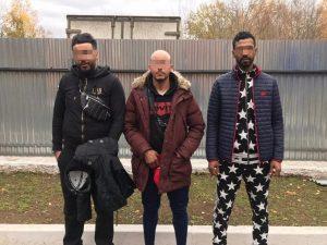 В Смоленской области задержали трех африканских туристов